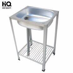 ส่วนลด Soi Tiger ซิ้งค์ล้างจาน อ่างล้างจานอลูมิเนียม 2 ชั้นเล็ก Soi Tiger ใน กรุงเทพมหานคร