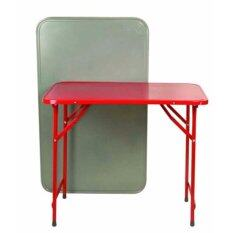 ขาย Soi Tiger โต๊ะพับหน้าเหล็ก T36 ขาสวิง 3 ฟุต หนาพิเศษ ผู้ค้าส่ง
