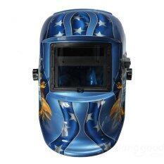 ขาย Solar Auto Darkening Welding Helmet Arc Tig Mig Mask For Welding Grinding Mask Eagle แองโกลา ถูก