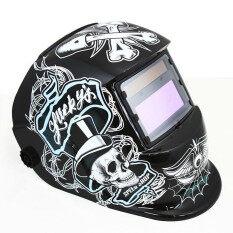 ซื้อ Solar Auto Darkening Welding Helmet Arc Tig Mig Weld For Welder Grinding Mask Unbranded Generic ออนไลน์