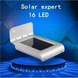 ราคา Solar Expert โคมไฟโซล่าเซลล์ 16Led มีเซ็นเซอร์ Solar Expert เป็นต้นฉบับ