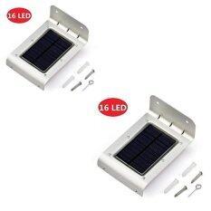 ซื้อ Solar Expert โคมไฟโซล่าเซลล์ Solar Led ติดกำแพงกันขโมย 2Pcs ออนไลน์