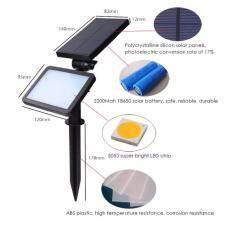 ซื้อ Solar Led ไฟปักสนาม ไฟติดกำแพงพลังงานแสงอาทิตย์ 48 Led Chip 8 ชุด ออนไลน์
