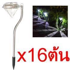 ขาย Solar Led Diamond ไฟแต่งสวนทรงเพชรพลังงานแสงอาทิตย์ 16 ต้น ใน กรุงเทพมหานคร