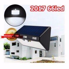Solar Light Lamp Motion Sensor 4800Mah ไฟติดผนังพลังงานแสงอาทิตย์ 66 Led Generice ถูก ใน กรุงเทพมหานคร