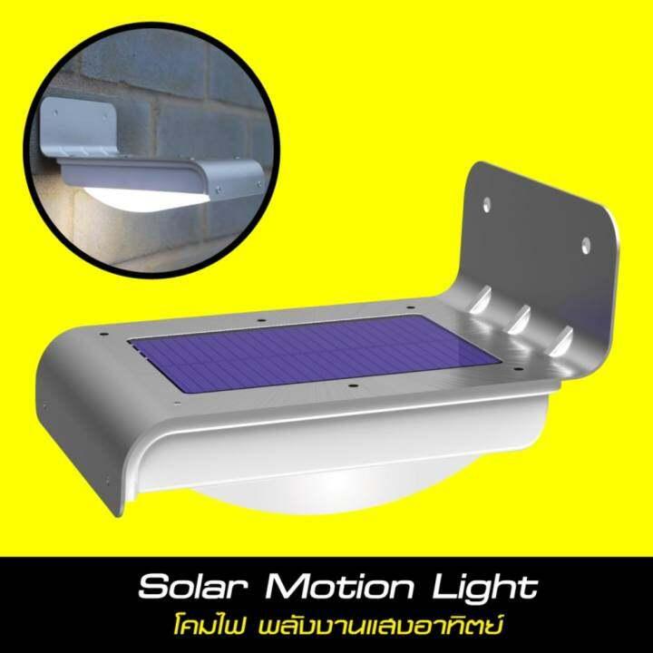 Solar Lights Lazada: Solar Motion Light(โคมไฟ พลังงานแสงอาทิตย์)
