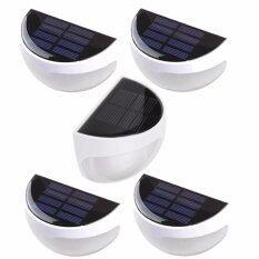 ขาย Solar Power Gardenไฟทางเดิน ไฟสนาม โคมไฟ โซล่าเซลล์ พลังแสงอาทิตย์ รุ่น6Led สีขาว แพ็ค5ชิ้น ออนไลน์ ใน กรุงเทพมหานคร