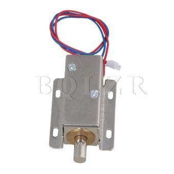 Solenoid ไฟฟ้าประตูตัวล็อกตู้ DC12V Silver - INTL