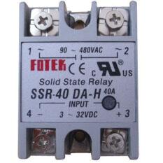 ขาย Solid State Relay Ssr 40A Out 3 32V Input Dc 90 480V Ac เป็นต้นฉบับ