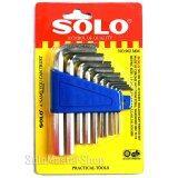 ซื้อ Solo ประแจหกเหลี่ยม ประแจแอล 10 ชิ้น ชุด ร่น 902Mm สีเงิน Solo ออนไลน์