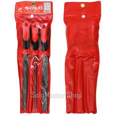 ราคา Solo ตะไบ ชุด 3 ชิ้น ขนาด 8 นิ้ว No 2203 ราคาถูกที่สุด