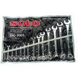 ซื้อ Solo ชุดประแจแหวนข้างปากตาย รุ่น814 แบบ14ตัว ชุด ขนาด 8 26 นิ้ว Solo