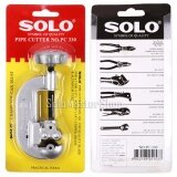 Solo คัตเตอร์ตัดแป๊บ Pipe Cutter รุ่น Pc330 สำหรับตัดท่อน้ำ ท่อทองแดง ท่อเหล็ก ท่อแอร์ Solo ถูก ใน กรุงเทพมหานคร