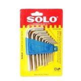 ซื้อ ประแจแอล หกเหลี่ยม 10 ชิ้น ชุด ร่น 902Mm Lls Solo