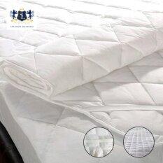 Solomon ผ้ารองกันเปื้อนเกรดโรงแรม ป้องกันไรฝุ่น ขนาด 5ฟุต (สีขาว) By Wing-Infurniture.