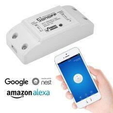 Sonoff โมดูลสวิทช์ไร้สายสมาร์ทซ็อกเก็ต Wifi สำหรับ Diy Home Echo Amazon.