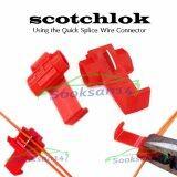ซื้อ Sooksan14 ตลับต่อสายไฟแรงต่ำ สีแดง 50 ชิ้น ใหม่