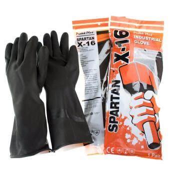 SPARTAN X16 ถุงมือกันสารเคมี ยาว 15 นิ้ว (ขาย 2 คู่)