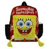 ราคา กระเป๋าเป้ Spongebob Squarepants สีแดง 14 X 13 นิ้ว Spongebob Squarepants ใหม่
