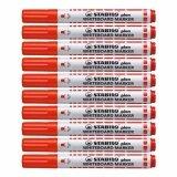 ราคา Stabilo สตาบิโล Plan ปากกาไวท์บอร์ด หัวกลม ขนาด 2 5 3 5 Mm สีแดง จำนวน 10 ด้าม กลิ่นไม่ฉุน เป็นต้นฉบับ Stabilo