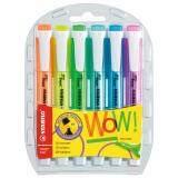 ขาย Stabilo สตาบิโล Swing Cool ปากกาเน้นข้อความ Swing Cool In Wallet ชุด 6 สี ถูก กรุงเทพมหานคร