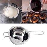 ขาย Stainless Chocolate Butter Melting Pot Pan Home Kitchen Milk Bowl Double Boiler Intl จีน ถูก