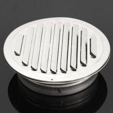 ความคิดเห็น Stainless Circle Air Vent Grille Ducting Ventilation Cover Ceiling Wall Size Diameter 180Mm Intl