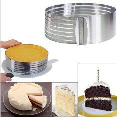 Stainless Steel 15-20cm Adjustable Retractable Circular Ring Cake Mould.
