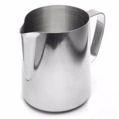 ราคา Stainless Steel Espresso Coffee Pitcher Craft Latte Milk Frothing Jug 350 Ml เหยือกสแตนเลส 350 มล ถูก