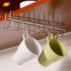 Stainless Steel Kitchen Storage Rack Cupboard Hanging Hook Shelf Dish Hanger Chest Storage Shelf Bathroom Organizer Holder Intl Unbranded Generic ถูก ใน จีน