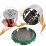 โปรโมชั่น Stainless Steel Refillable Coffee Capsule For Nespresso Machine Smooth Surface Intl Unbranded Generic ใหม่ล่าสุด