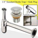 ความคิดเห็น Standard Chrome Brass Round Bottle Trap Waste Bathroom Basin Sink 1 1 4 Intl