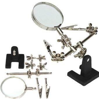 รูปแว่นขยายเสริมรูปแบบยืนเหมาะสำหรับแผงวงจรการตรวจสอบและบำรุงรักษา/เชื่อม/แกะสลัก - นานาชาติ