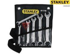 ราคา Stanley ชุดประแจ 87 716 6 ชิ้น ขนาด 6 7 16 17 มม