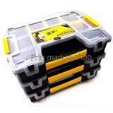 ส่วนลด สินค้า Stanley Sortmaster Plastic Tool Box กล่องเครื่องมือ 12 5 นิ้ว พร้อมตัวล็อค 3 กล่องชุด
