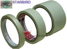 ส่วนลด สินค้า Starbird กระดาษกาวย่น มาสกิ้งเทป ยาว 18 หลา ขนาด 2 48มม 6 ม้วน