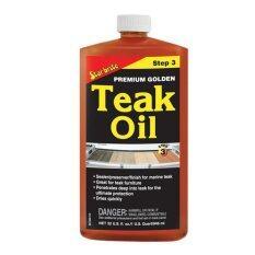 Starbrite น้ำมันพรีเมี่ยมดูแลรักษาเนื้อไม้ 946 มล. Teak Oil.