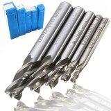ราคา Straight Shank 4 Flute End Mill Cutter Cnc Drill Bit Tools 4 6 8 10 12Mm 5 Pcs Intl ใหม่
