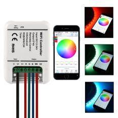 ราคา Sunix Rgb Led Strip Wifi Remote 5 Channels Controller For Ios Smartphones ราคาถูกที่สุด