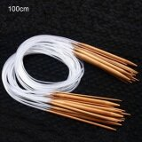 ราคา Sunshop 100Cm 18 Models Set Color Tube Double Pointed Bamboo Ring Knitting Needles Intl ใหม่ ถูก