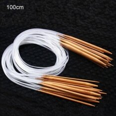 โปรโมชั่น Sunshop 100Cm 18 Models Set Color Tube Double Pointed Bamboo Ring Knitting Needles Intl จีน