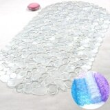 ราคา Sunshop Bathroom Bath Kitchen Cobblestone Transparent Floor Mat Pvc Non Slip Bath Rugs Intl ออนไลน์ จีน