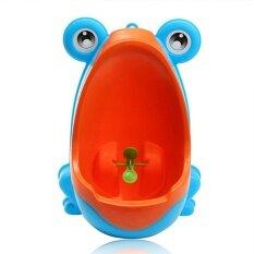 Sunshop ห้องน้ำน่ารักกบเด็กไม่เต็มเต็งห้องน้ำที่ถอดออกได้ปัสสาวะการเรียนรู้เด็กฉี่เทรนเนอร์-นานาชาติ By Soar1478.