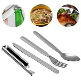 ขาย Sunshop Portable Pratical Dining Sets Fork Cutter Spoon Storage Case Opener Intl ถูก Thailand