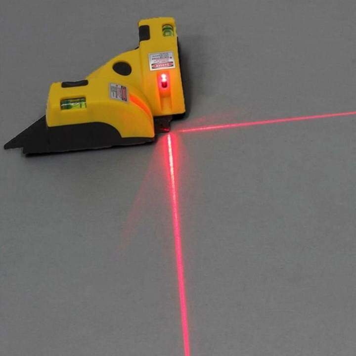 ... Sunshop Sucking Disc Type Vertical Horizontal Line Laser Level Meter Square Level Right Angle intl