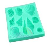 ราคา Super Star Mall Generic Silicone Sea Lifes Shell Conch Fondant Cake Cookie Baking Icing Soap Mould Mold Intl ใหม่
