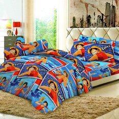 ขาย Sweet Dreams ชุดผ้าปูที่นอน ผ้านวม ลายการ์ตูนลิขสิทธิ์ วันพีช One Piece Op7 ถูก ใน ไทย