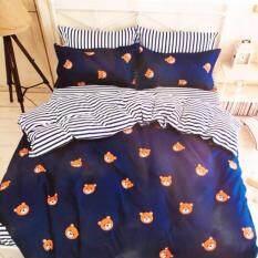 ซื้อ Sweet Kip ชุดผ้าปูที่นอน 6 ฟุต พร้อมผ้านวม 5 ชิ้น ลายหมี ออนไลน์ กรุงเทพมหานคร