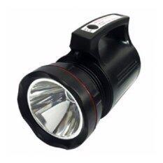 โปรโมชั่น ไฟฉายแรงสูง หลอด T6 กันน้ำ ลำแสงพุ่งไกลมาก 15W High Power Search Light Model 8006 Unbranded Generic