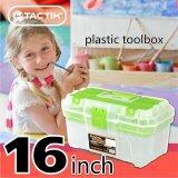 ราคา Tactix 320110 Plastic Tool Box กล่องเครื่องมือช่าง Pvc 16 นิ้ว คละสี ออนไลน์ กรุงเทพมหานคร